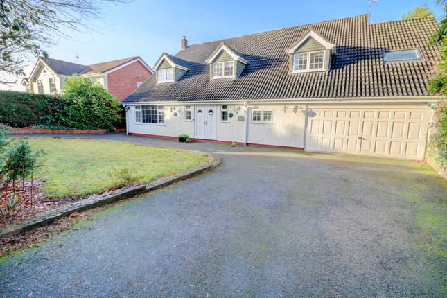 Thumbnail Detached house for sale in Roman Lane, Little Aston, Sutton Coldfield