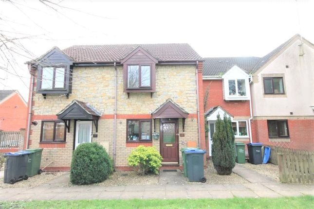 Thumbnail Terraced house to rent in Saffron Meadow, Calne, Wiltshire