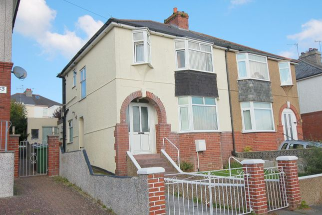 Thumbnail Semi-detached house for sale in Vine Gardens, Plymouth