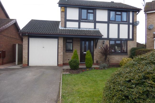 Thumbnail Detached house to rent in Aldridge Close, Toton, Toton