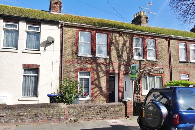 Thumbnail Terraced house for sale in Southfield Road, Broadwater, Worthing