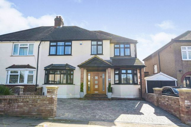 Thumbnail Semi-detached house for sale in Coombe Road, Romford