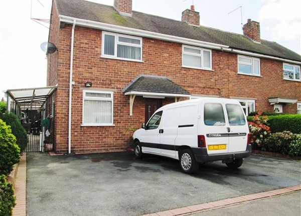 Semi-detached house for sale in Birchdale, Madeley, Crewe