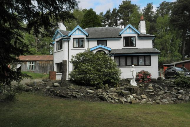 Thumbnail Detached house for sale in Station Road, Carrbridge