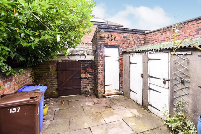 Rear Yard of Lodge Lane, Hyde, Greater Manchester SK14