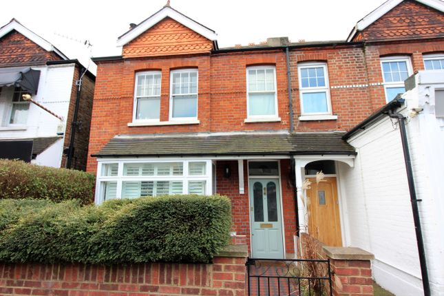 Thumbnail Semi-detached house for sale in Walton Road, East Molesey