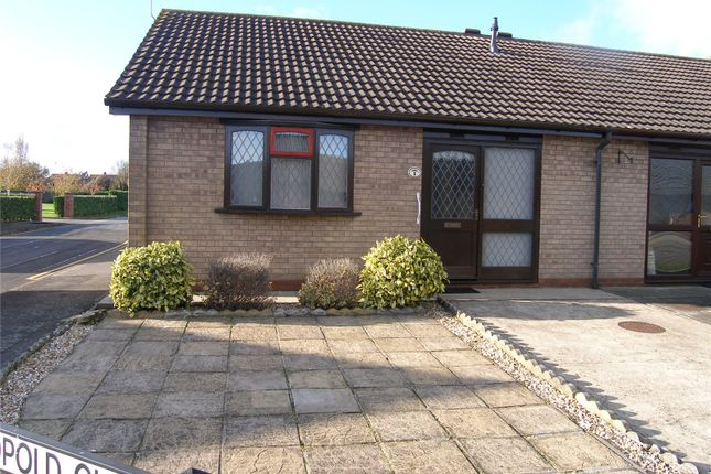 Thumbnail Detached bungalow to rent in Leopold Close, Scunthorpe