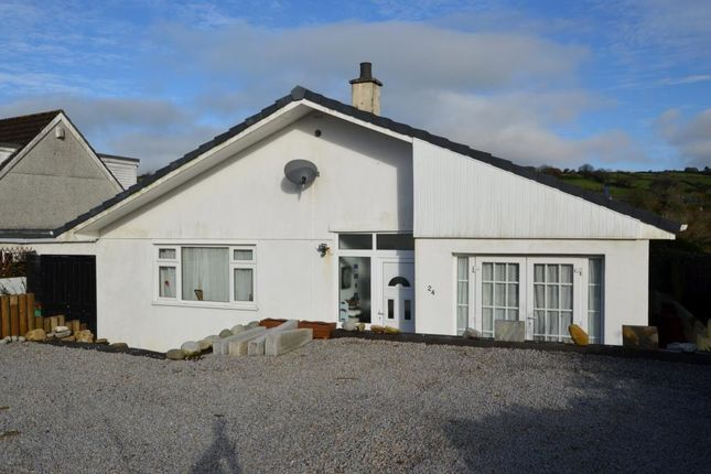 Thumbnail Detached bungalow for sale in Trecarne View, St. Cleer, Liskeard, Cornwall