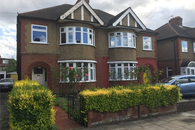 Thumbnail Semi-detached house for sale in Vicars Close, Enfield