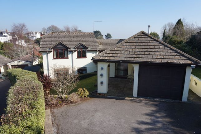 Thumbnail Detached house for sale in Coombeshead Road, Highweek, Newton Abbot