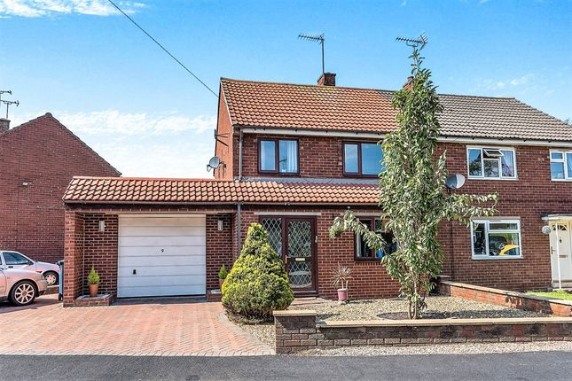 Thumbnail Semi-detached house for sale in Windsor Road, Uttoxeter