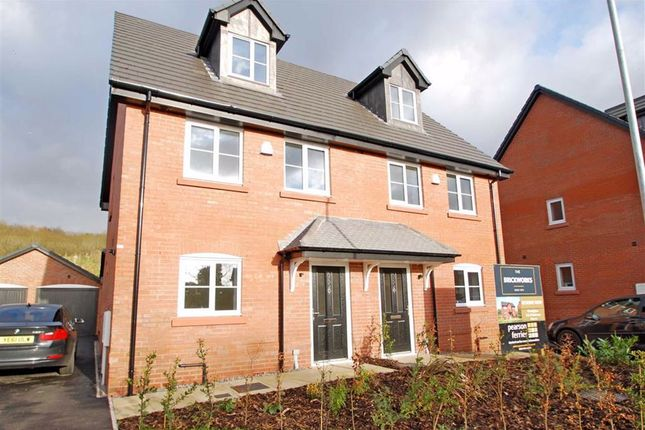 Thumbnail Semi-detached house for sale in The Brickworks, Bury, Greater Manchester