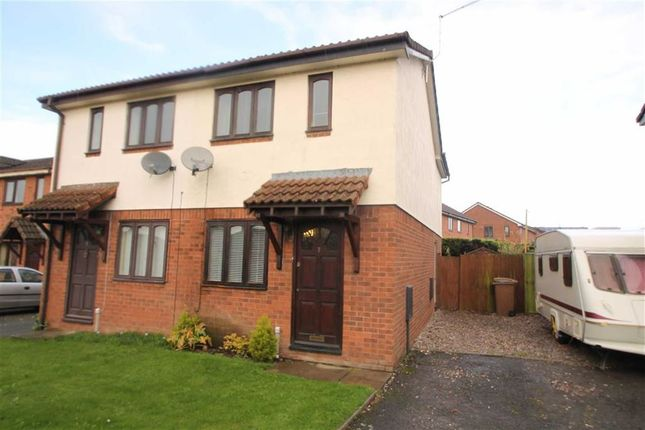 Thumbnail Semi-detached house to rent in Diamond Avenue, Oswestry