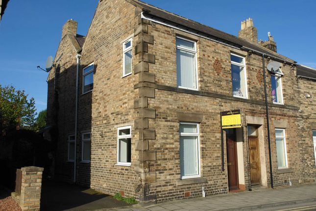 Thumbnail End terrace house to rent in Oakfield Terrace, Prudhoe