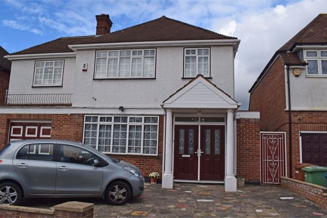 Thumbnail Detached house for sale in Dalkeith Grove, Stanmore, Greater London