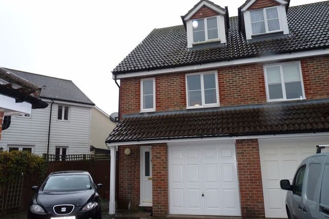 Thumbnail Terraced house to rent in Tanners Mead, Edenbridge