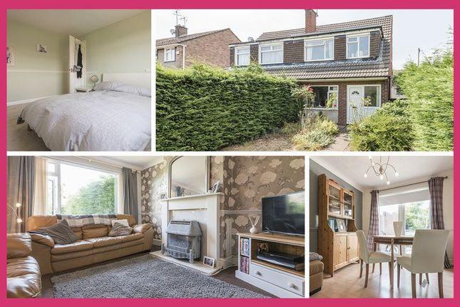Thumbnail Semi-detached house for sale in Pilton Vale, Newport