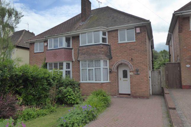 Thumbnail Semi-detached house for sale in Farlow Road, Birmingham