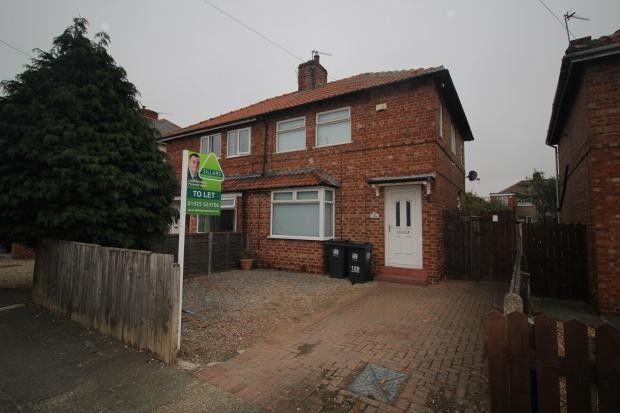 Thumbnail Semi-detached house to rent in Geneva Road, Darlington, County Durham