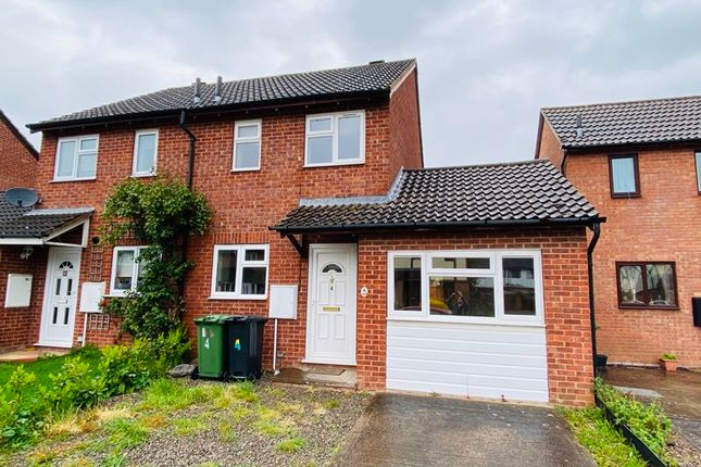2 bed semi-detached house to rent in Thomas Close, Hereford HR2