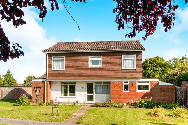 Thumbnail Detached house for sale in Pightle Close, Elmswell, Bury St. Edmunds