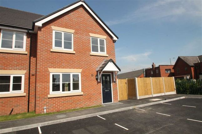 Thumbnail End terrace house to rent in Trumpet Close, Gobowen, Shropshire