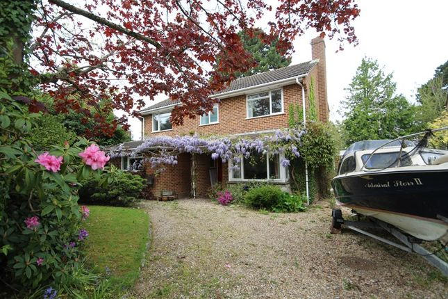 Thumbnail Detached house for sale in Walkford Road, Walkford, Christchurch