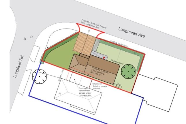 Thumbnail Land for sale in Building Plot At Longfield Road, Great Baddow, Chelmsford