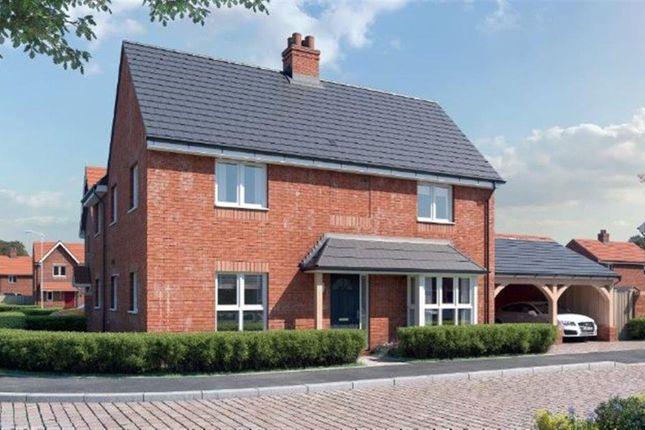Thumbnail Detached house for sale in Oak Road, Tiddington, Stratford-Upon-Avon