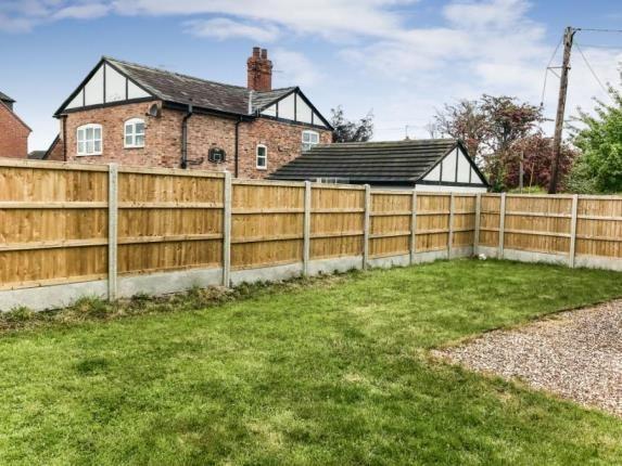 Garden of Ashridge, 1A Moors Lane, Winsford, Cheshire CW7