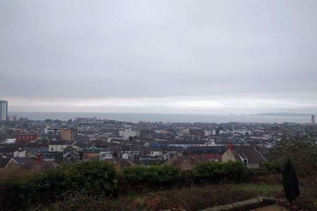 External of Chaddesley Terrace, Mount Pleasant, Swansea SA1