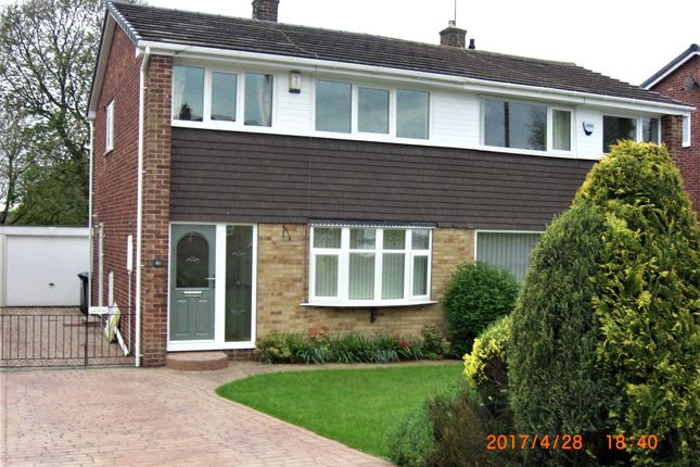Thumbnail Semi-detached house to rent in Hall Royd Walk, Silkstone Common, Barnsley