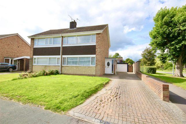 Thumbnail Semi-detached house for sale in Linnetsdene, Swindon