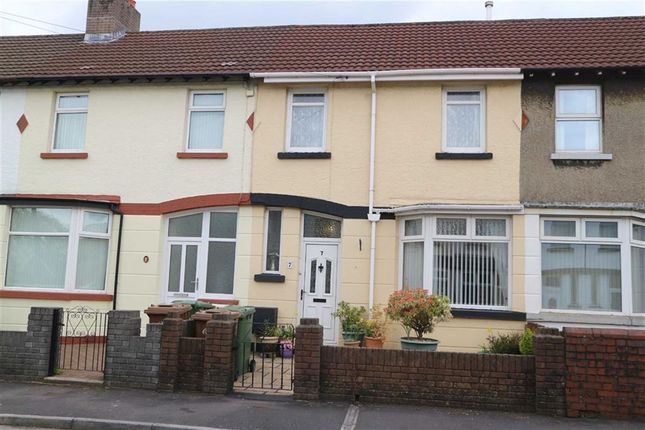 Thumbnail Terraced house for sale in Rhos Street, Caerphilly
