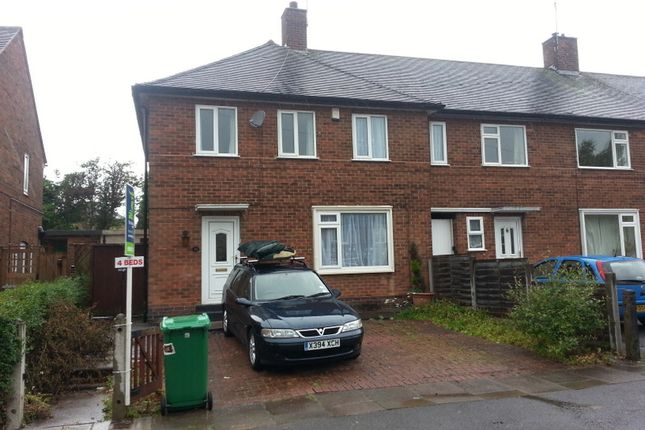 Thumbnail Semi-detached house to rent in Trowell Avenue, Wollaton