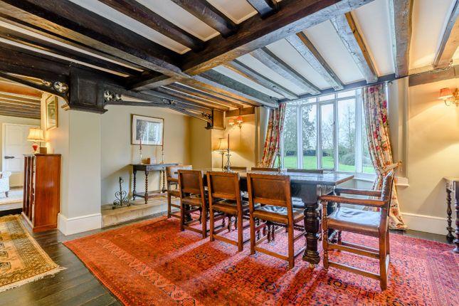 Dining Room of Tindon End, Great Sampford, Saffron Walden, Essex CB10