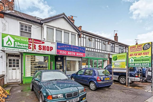 Thumbnail Commercial property for sale in Upper Richmond Road West, London