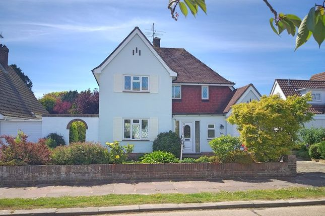 Thumbnail Detached house for sale in Ashurst Close, Goring-By-Sea, Worthing