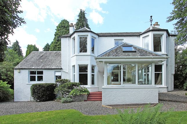 Thumbnail Detached house for sale in Perth Road, Crieff