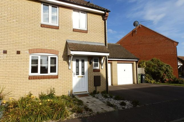 Thumbnail Semi-detached house to rent in Horsley Drive, Gorleston, Great Yarmouth