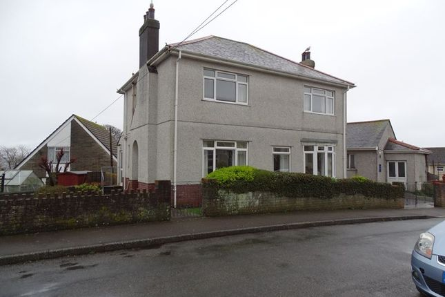 Thumbnail Detached house to rent in Moor View, Torpoint