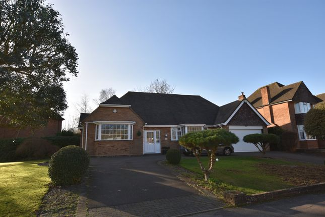 Thumbnail Detached bungalow for sale in Links Drive, Solihull