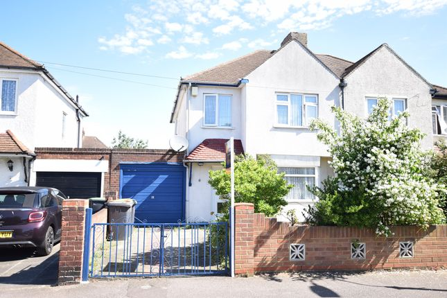 Thumbnail Semi-detached house for sale in Harewood Road, Elstow, Bedford