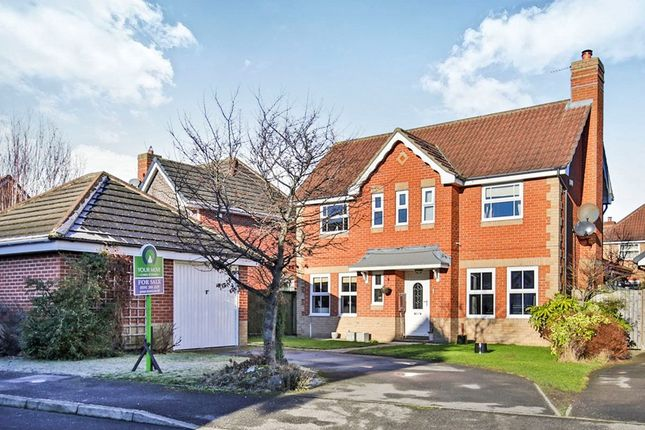 Thumbnail Detached house for sale in Gill Croft, Chester Le Street
