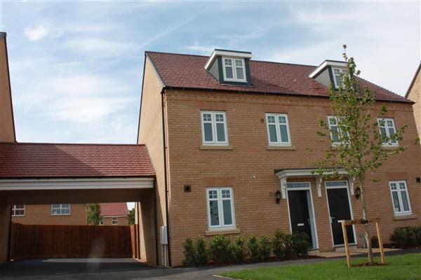Thumbnail Semi-detached house to rent in Gumcester Way, Godmanchester, Huntingdon