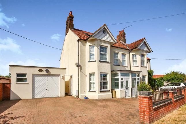 Thumbnail Semi-detached house for sale in Norwich Road, Fakenham