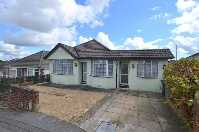 Thumbnail Detached bungalow for sale in Shirley Road, Parkstone, Poole