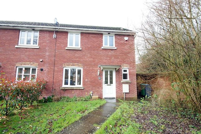 Thumbnail Semi-detached house for sale in Jenkins Way, St. Mellons, Cardiff