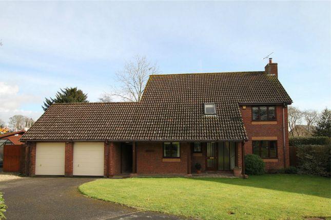 Thumbnail Detached house for sale in 4 Ravenscroft Gardens, Trowbridge, Wiltshire