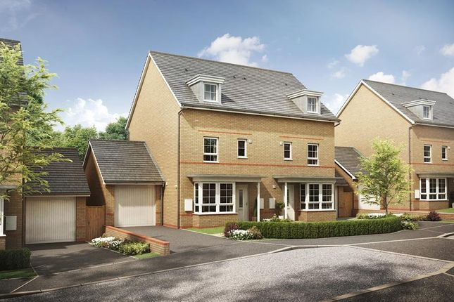 """Thumbnail Semi-detached house for sale in """"Woodvale"""" at Glynn Road, Peacehaven"""